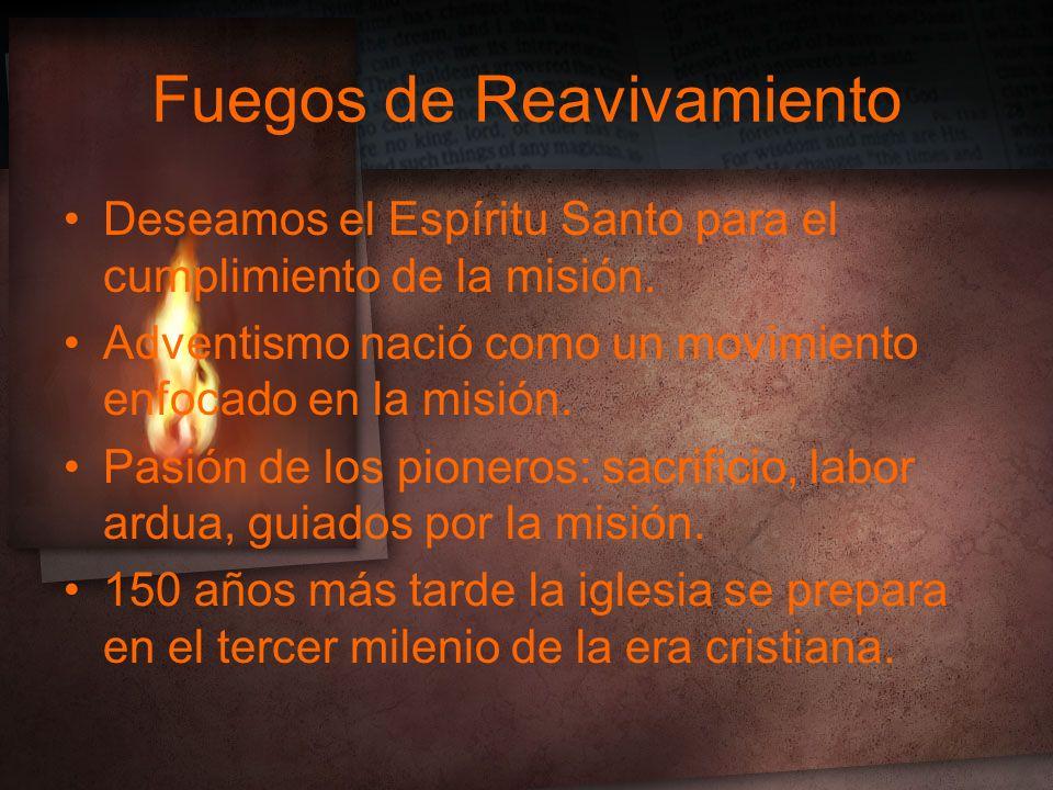 Fuegos de Reavivamiento