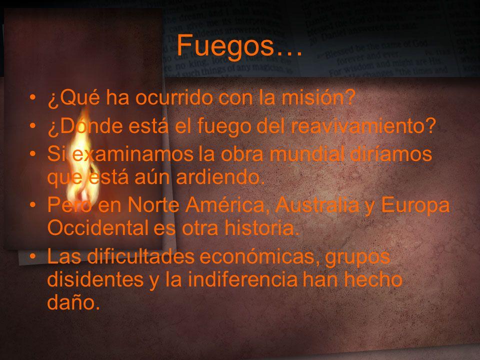 Fuegos… ¿Qué ha ocurrido con la misión