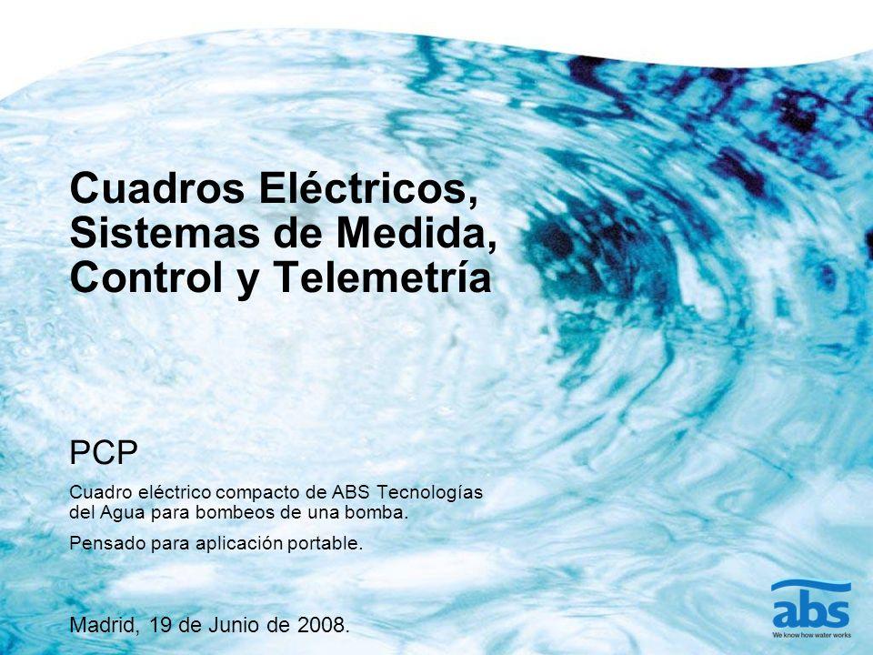 Cuadros Eléctricos, Sistemas de Medida, Control y Telemetría