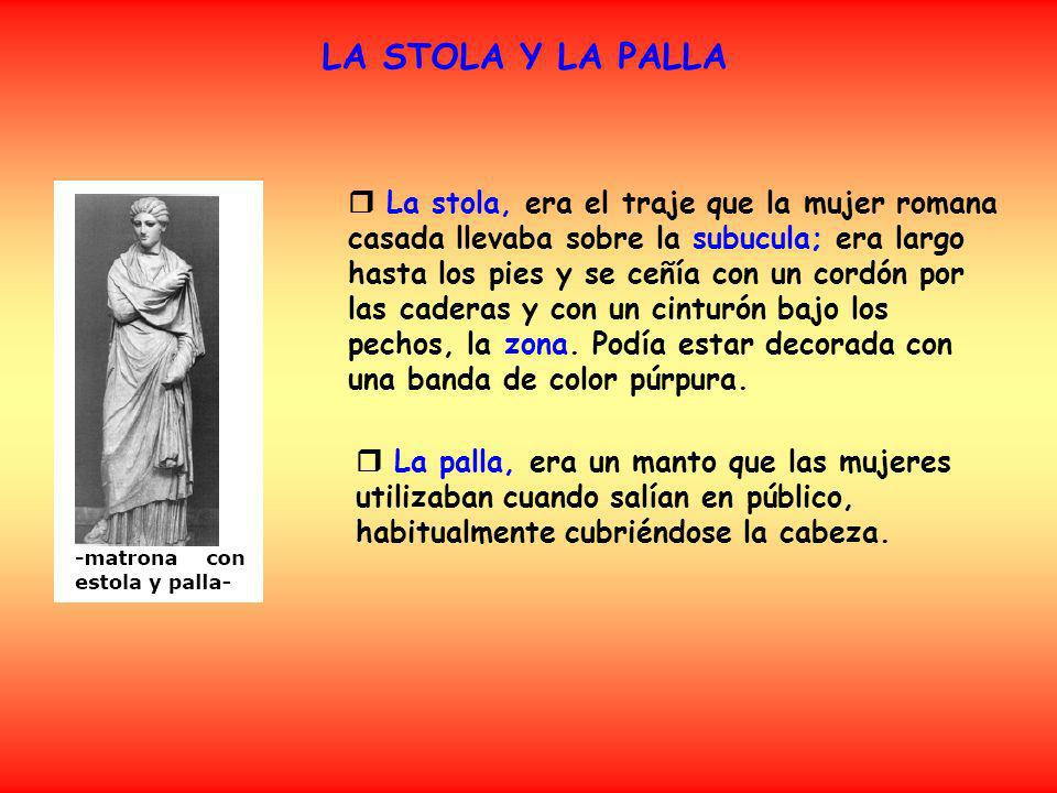 LA STOLA Y LA PALLA