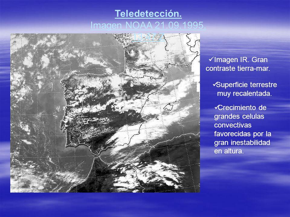 Teledetección. Imagen NOAA 21.09.1995. 13:47 Z