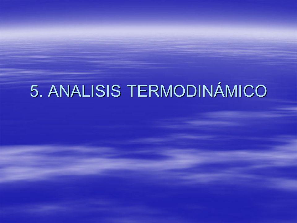 5. ANALISIS TERMODINÁMICO