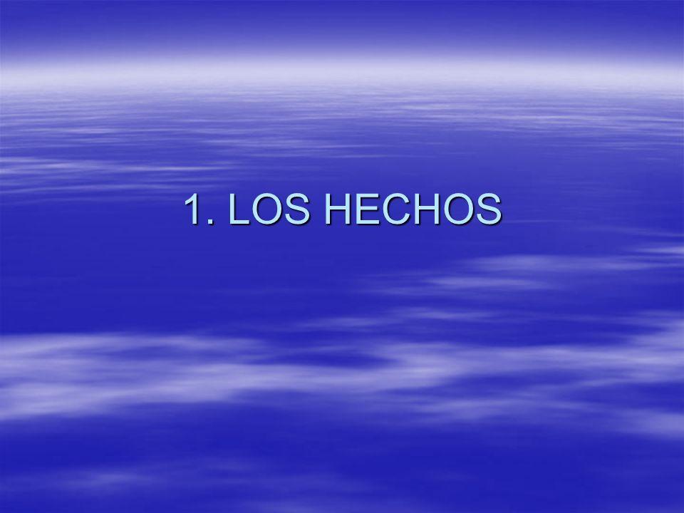 1. LOS HECHOS