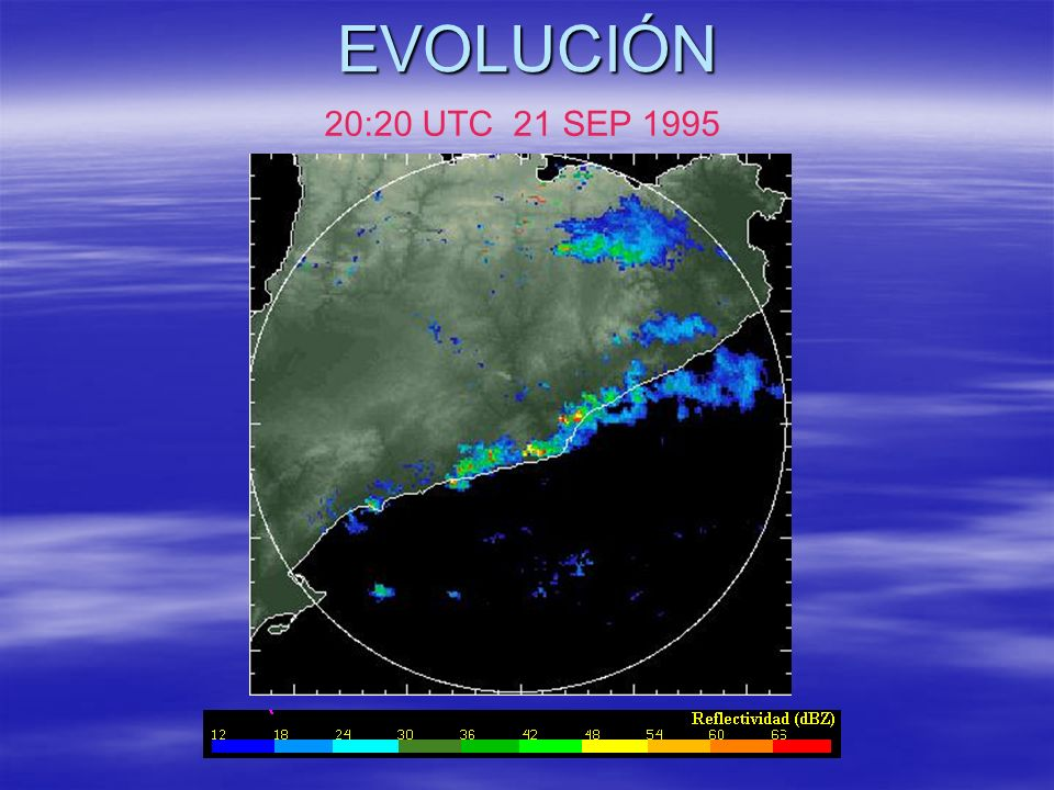 EVOLUCIÓN 20:20 UTC 21 SEP 1995