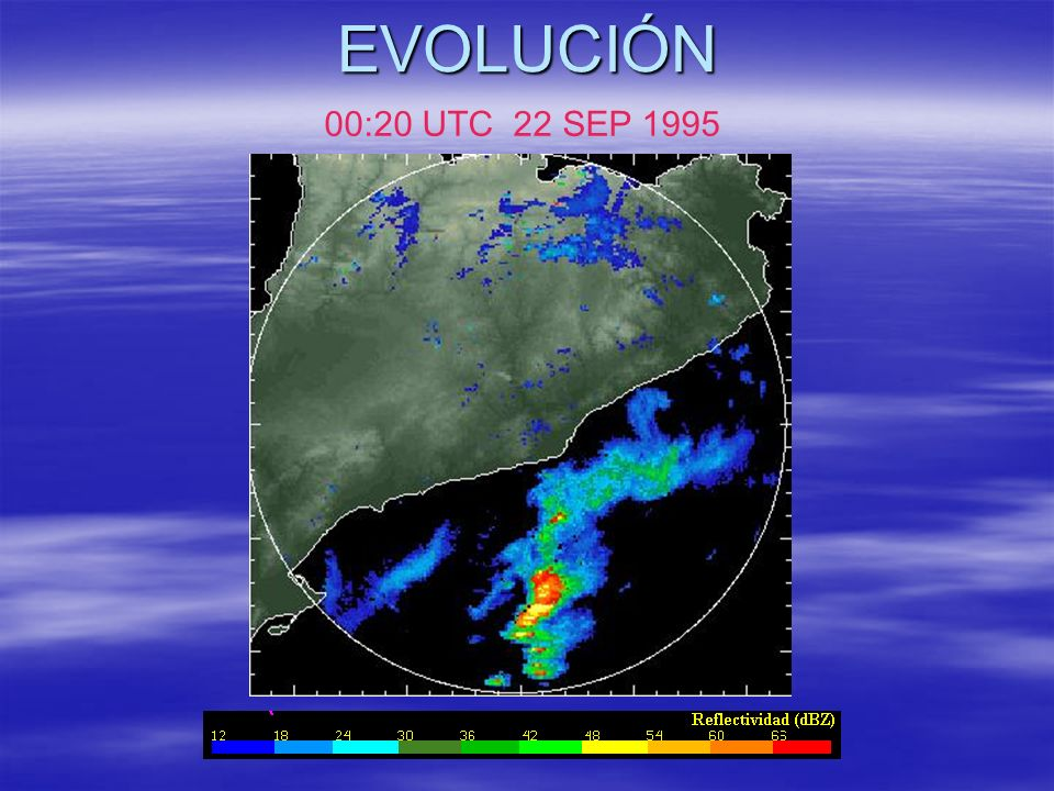 EVOLUCIÓN 00:20 UTC 22 SEP 1995
