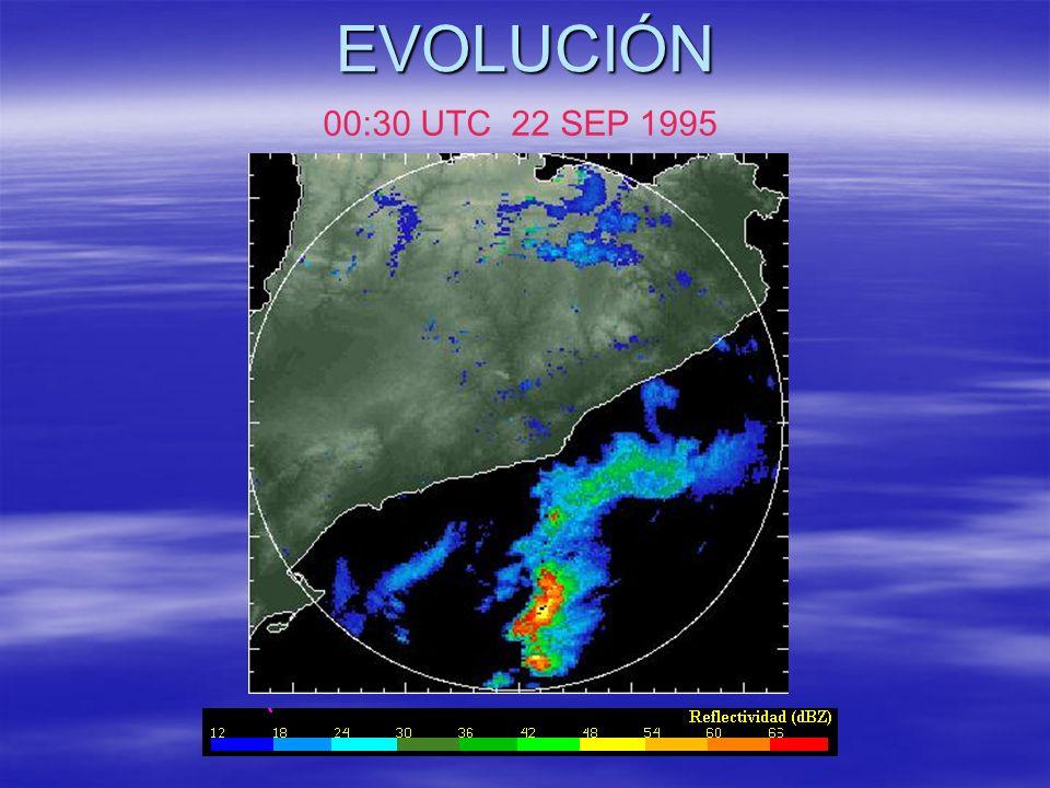 EVOLUCIÓN 00:30 UTC 22 SEP 1995