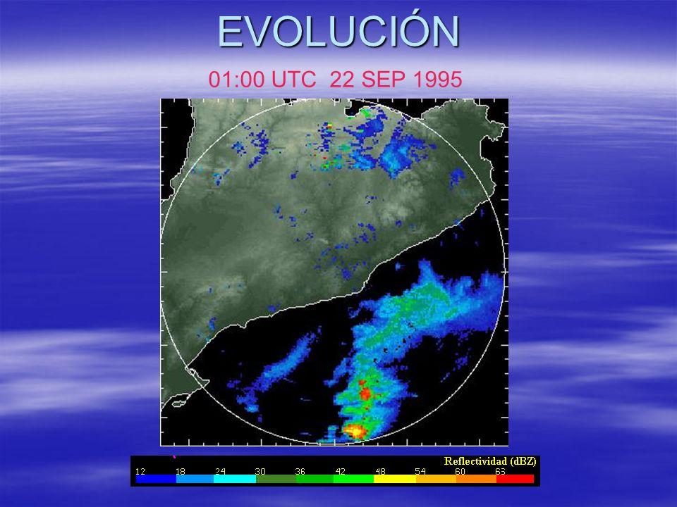 EVOLUCIÓN 01:00 UTC 22 SEP 1995