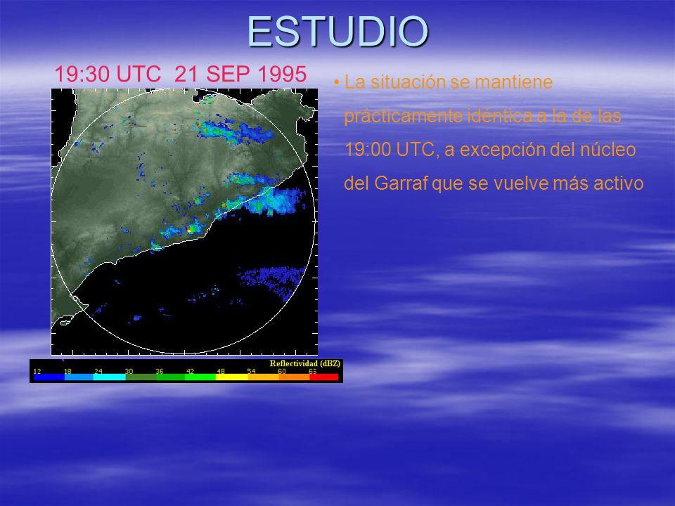 ESTUDIO 19:30 UTC 21 SEP 1995 La situación se mantiene