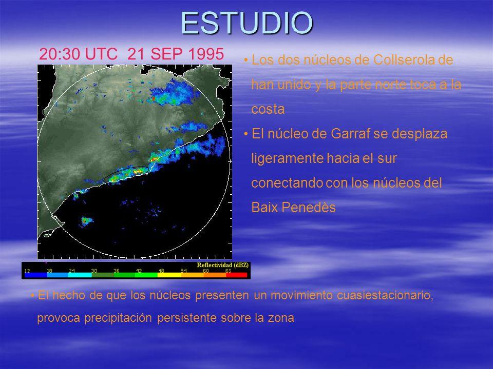 ESTUDIO 20:30 UTC 21 SEP 1995 Los dos núcleos de Collserola de
