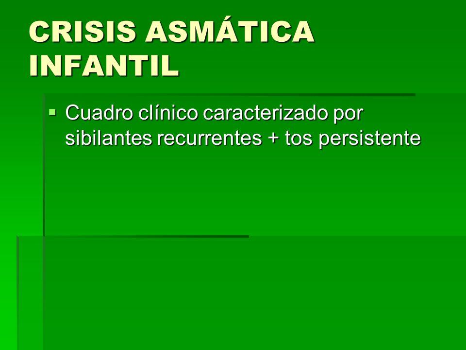 CRISIS ASMÁTICA INFANTIL