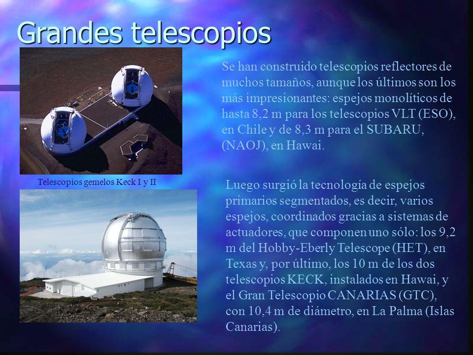 Telescopios gemelos Keck I y II