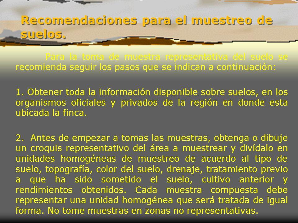 T cnica de muestreo de suelos ppt video online descargar for Validez acuerdo privado clausula suelo