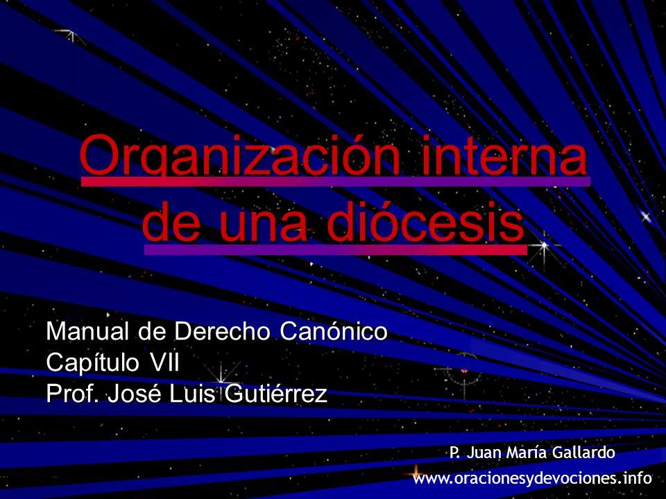 Organización interna de una diócesis