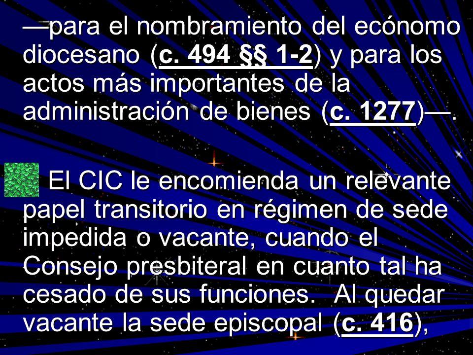 —para el nombramiento del ecónomo diocesano (c