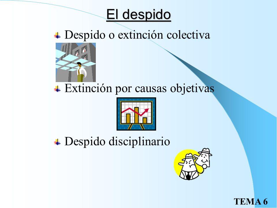 El despido Despido o extinción colectiva