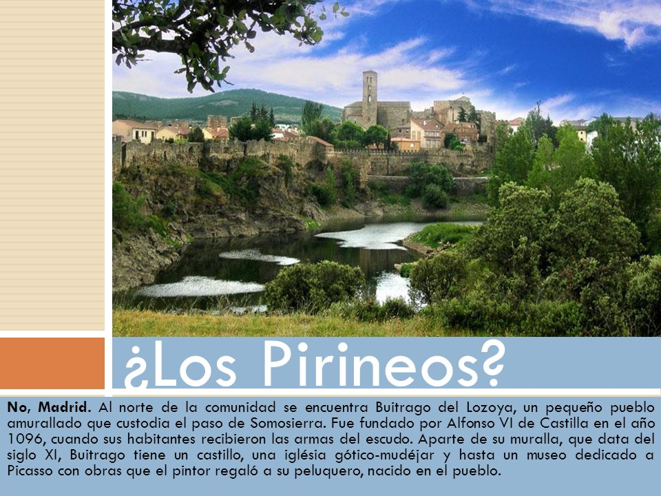 ¿Los Pirineos No, Madrid.