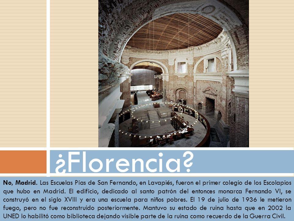 ¿Florencia