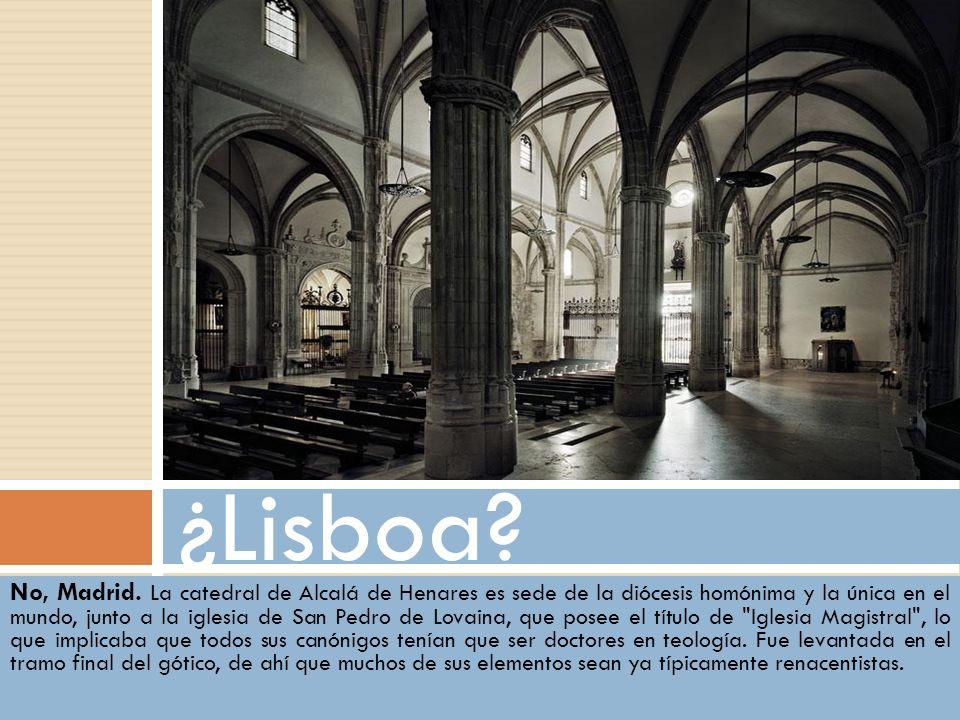 ¿Lisboa