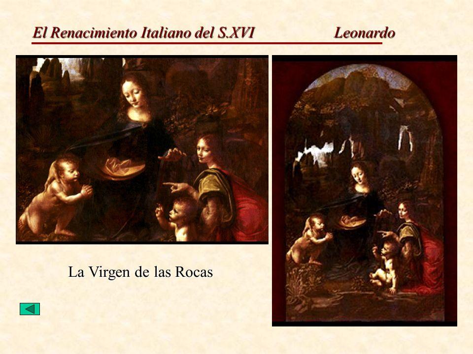Leonardo La Virgen de las Rocas