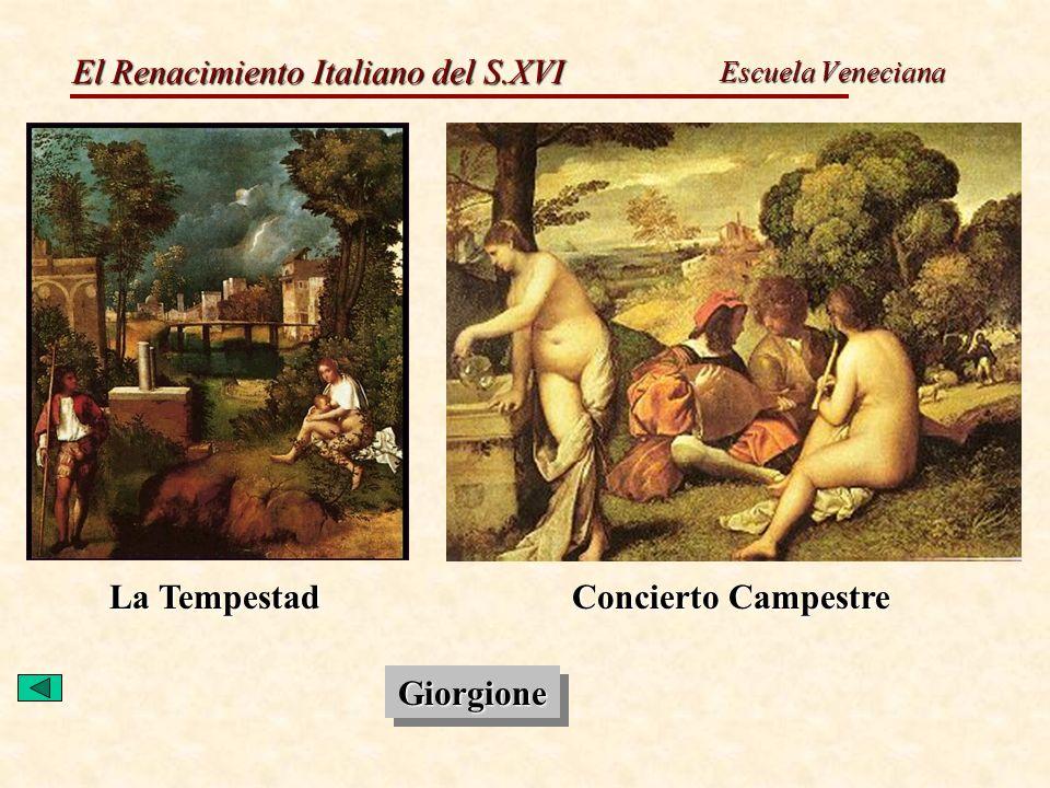 La Tempestad Concierto Campestre Giorgione