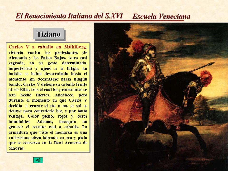 Escuela Veneciana Tiziano