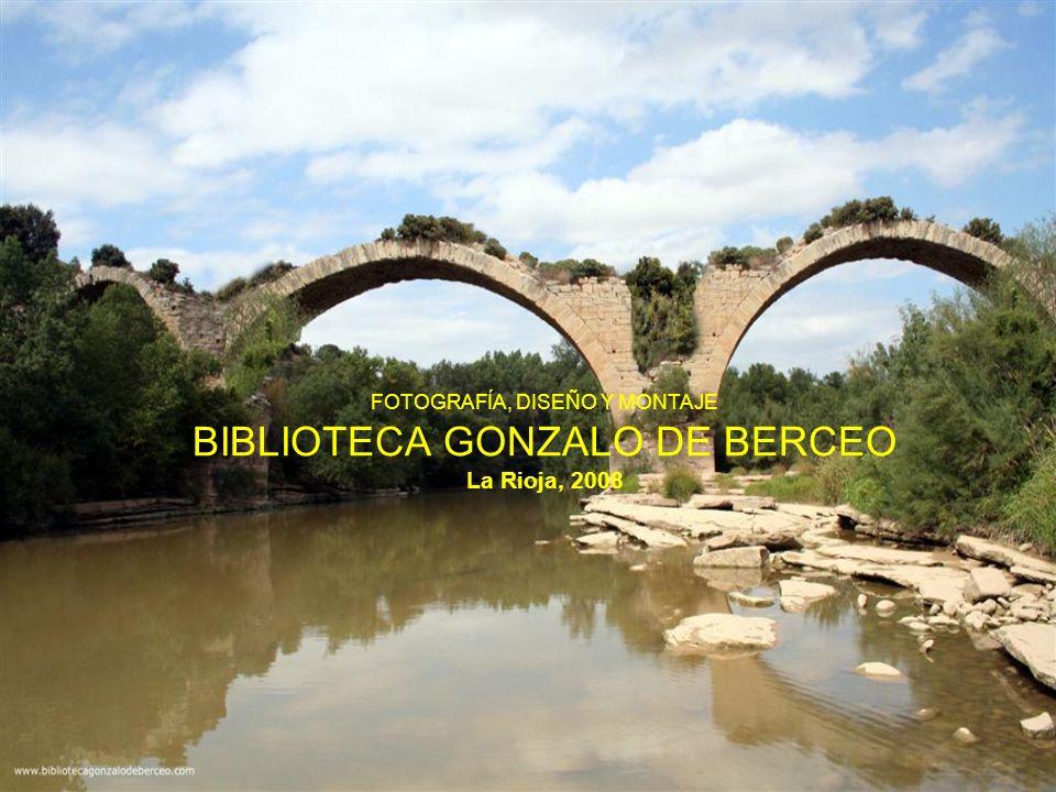 FOTOGRAFÍA, DISEÑO Y MONTAJE BIBLIOTECA GONZALO DE BERCEO La Rioja, 2008
