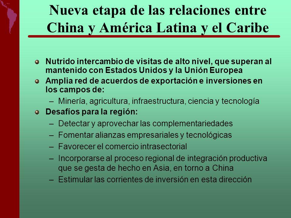 Nueva etapa de las relaciones entre China y América Latina y el Caribe