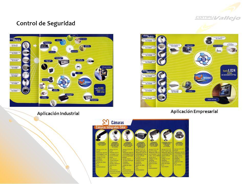 Aplicación Empresarial Aplicación Industrial