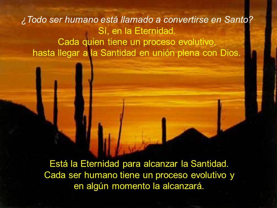¿Todo ser humano está llamado a convertirse en Santo