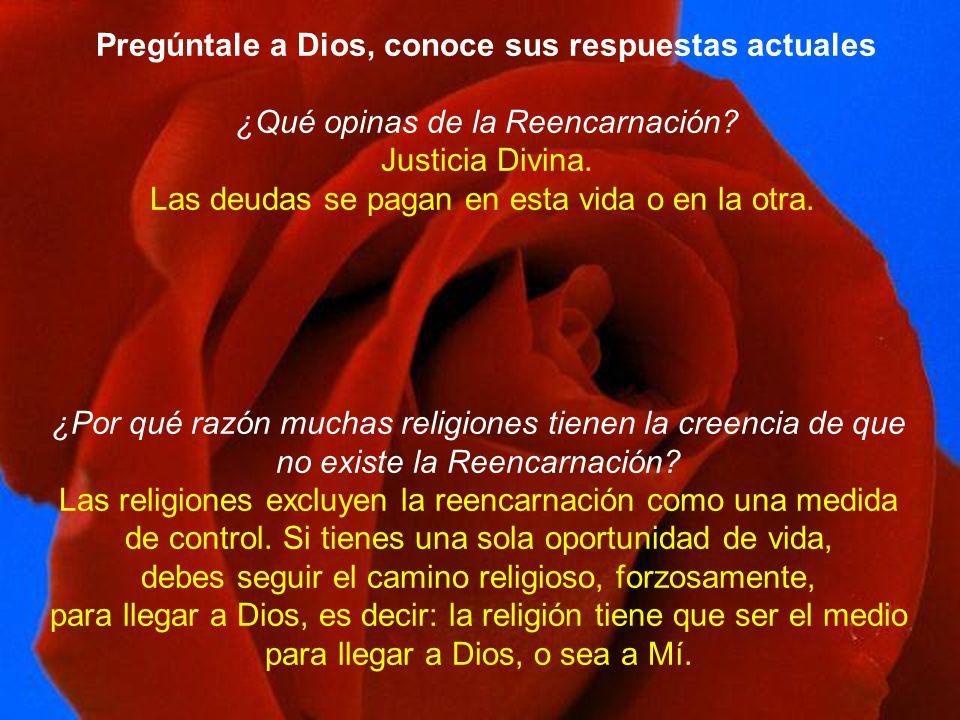 Pregúntale a Dios, conoce sus respuestas actuales
