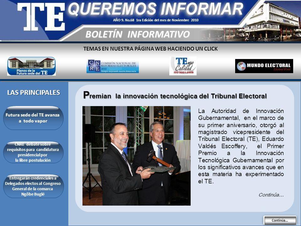 AÑO 9. No.68 1ra Edición del mes de Noviembre 2010
