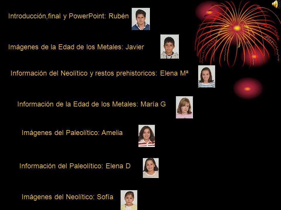 Introducción,final y PowerPoint: Rubén