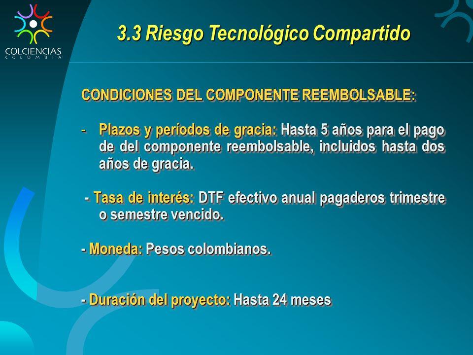 3.3 Riesgo Tecnológico Compartido