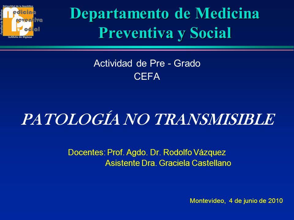 Departamento de Medicina Preventiva y Social