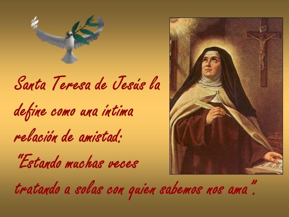 Santa Teresa de Jesús la