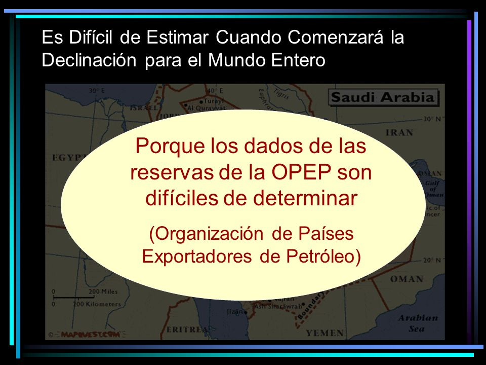 (Organización de Países Exportadores de Petróleo)