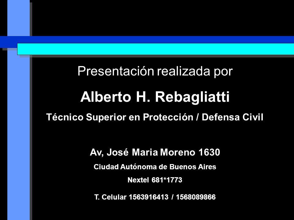 Alberto H. Rebagliatti Presentación realizada por