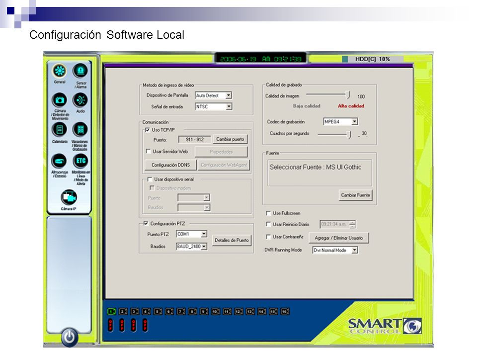 Configuración Software Local