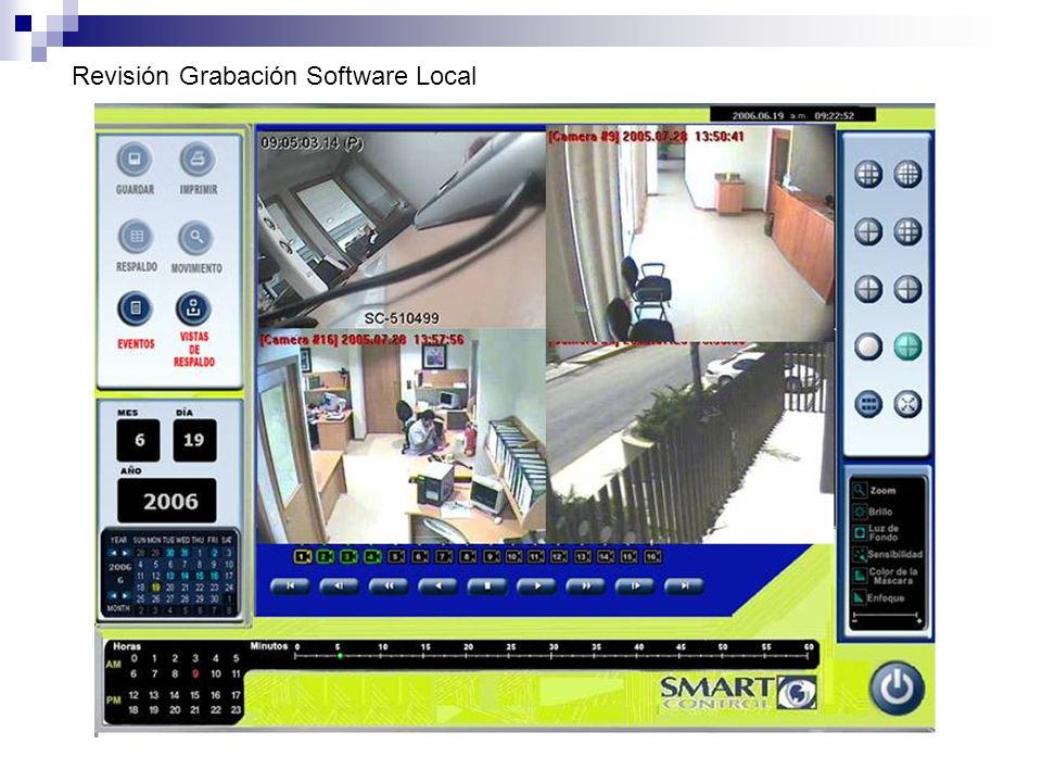 Revisión Grabación Software Local