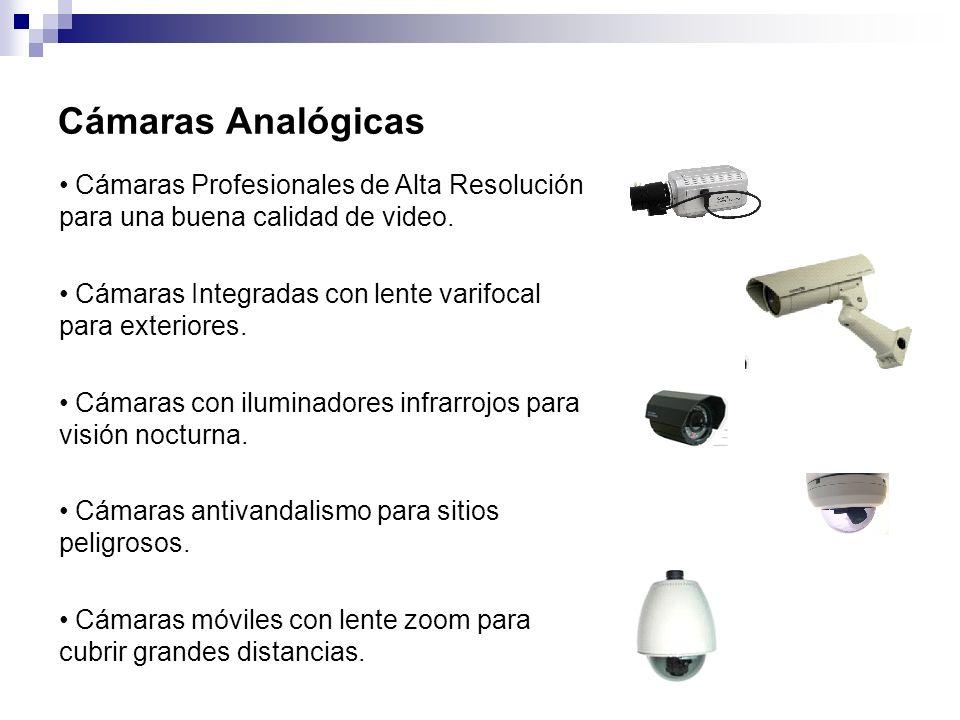 CURSO BASICO DE C.C.T.V. MASTER CHOICE, S.A. DE C.V. Cámaras Analógicas. Cámaras Profesionales de Alta Resolución para una buena calidad de video.