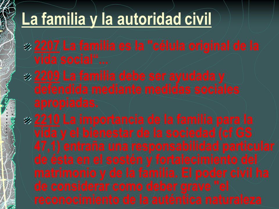 La familia y la autoridad civil