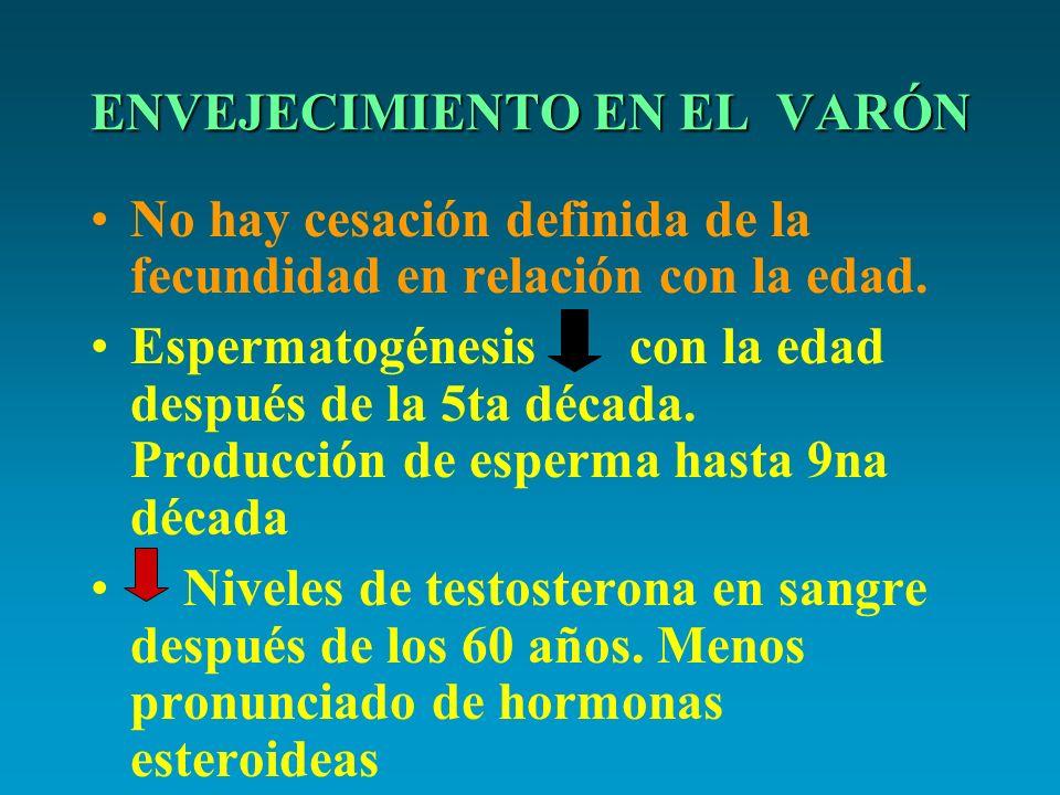 ENVEJECIMIENTO EN EL VARÓN