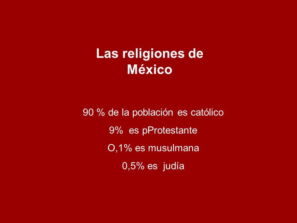 Las religiones de México
