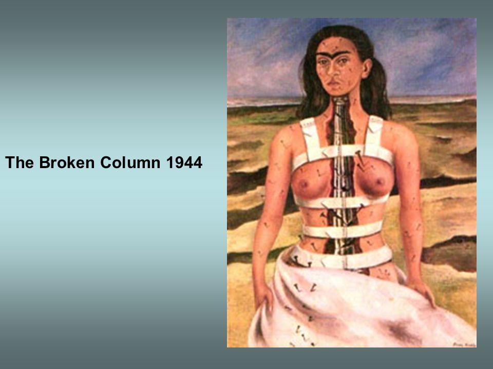 The Broken Column 1944