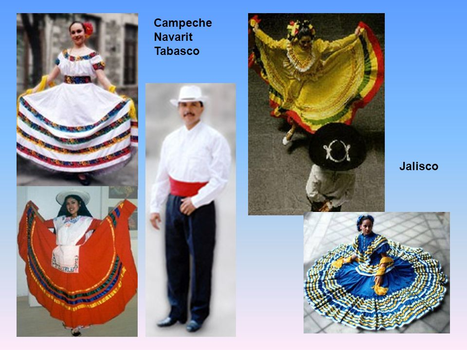 Campeche Navarit Tabasco