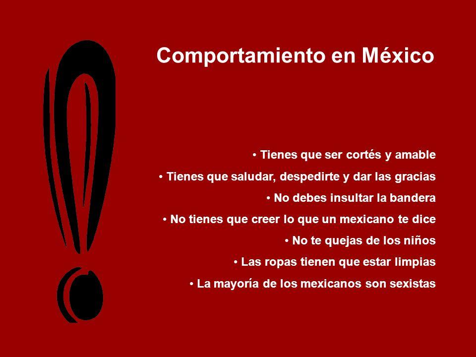Comportamiento en México