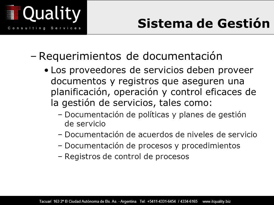 Sistema de Gestión Requerimientos de documentación