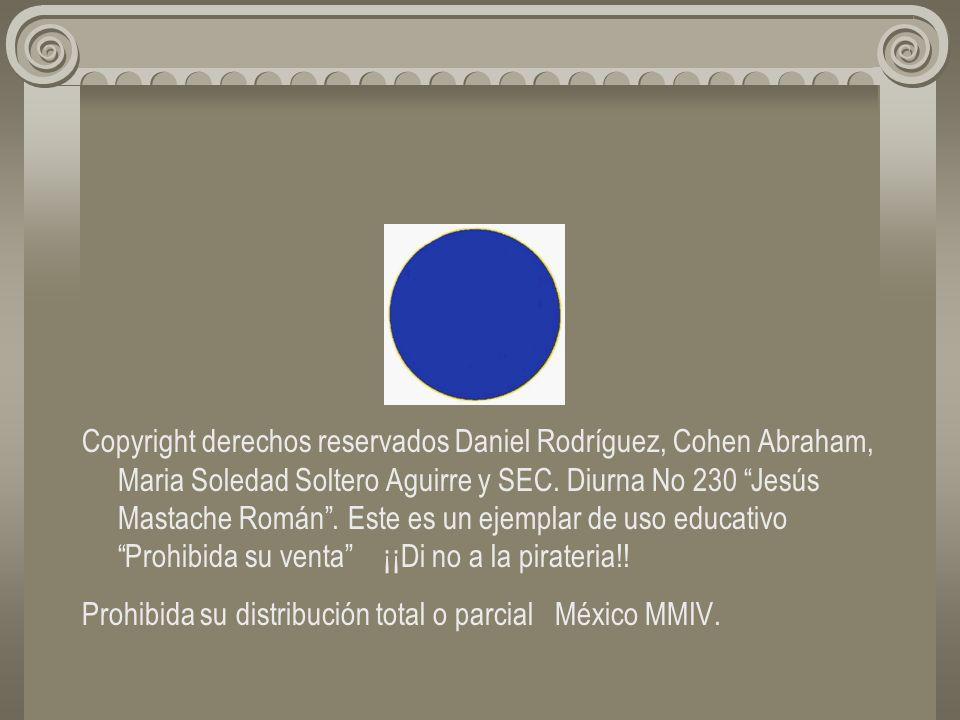 Copyright derechos reservados Daniel Rodríguez, Cohen Abraham, Maria Soledad Soltero Aguirre y SEC.