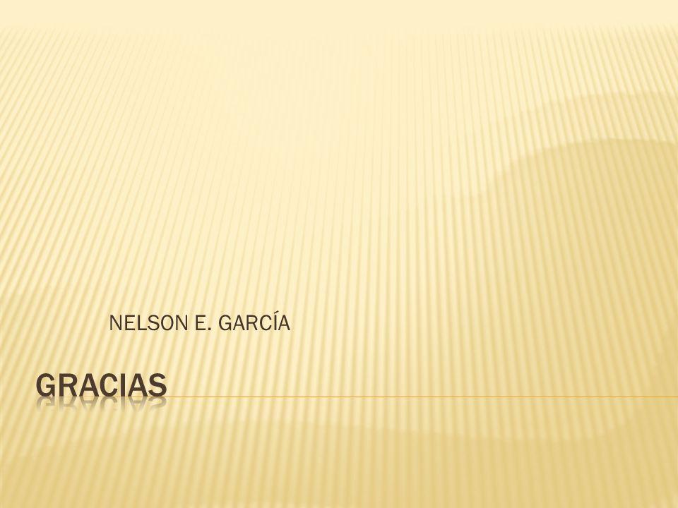 NELSON E. GARCÍA GRACIAS