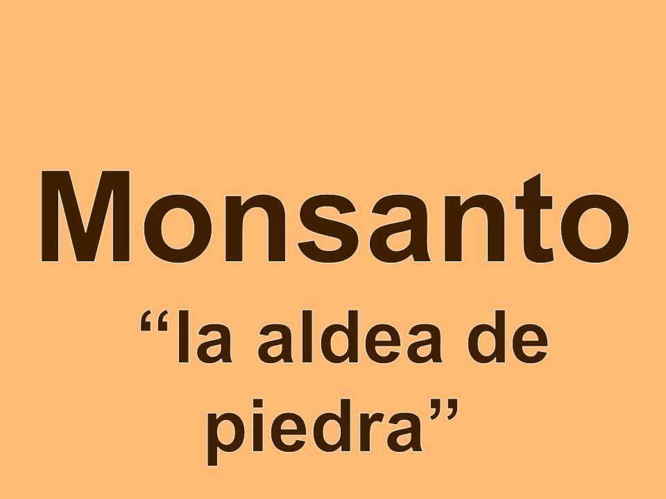 Monsanto la aldea de piedra